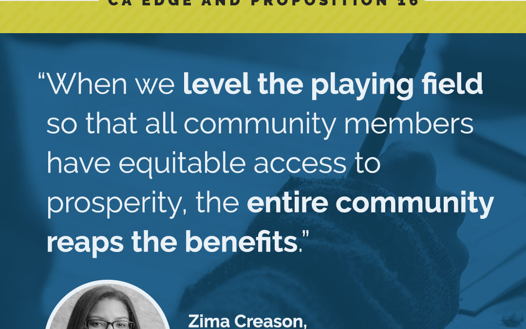 Equity on the Ballot: CA EDGE and Proposition 16