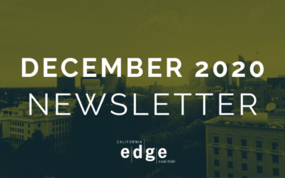 CA EDGE Coalition Monthly Newsletter, December 2020 Edition