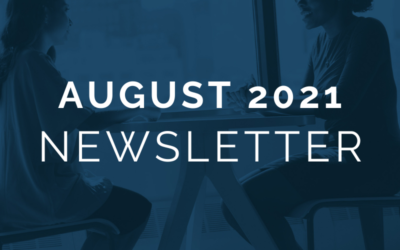 CA EDGE Coalition Monthly Newsletter, August 2021 Edition