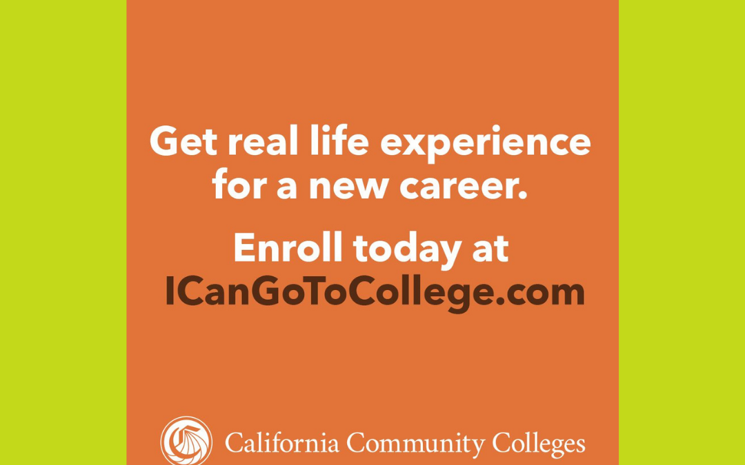 Students Can Apply Now for the Fall Semester at a California Community College